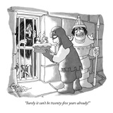 """""""Surely it can't be twenty-five years already!"""" - New Yorker Cartoon Giclee Print by Gahan Wilson"""