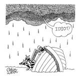 sinking arc - New Yorker Cartoon Giclee Print by Gahan Wilson