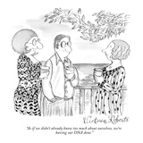 """As if we didn't already know too much about ourselves, we're having our D…"" - New Yorker Cartoon Premium Giclee Print by Victoria Roberts"