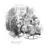 """Did you like Paris""-""Well, yes and no."" - New Yorker Cartoon Premium Giclee Print by Perry Barlow"