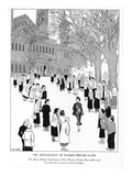 The Renascence of Rugged Individualism--The Bryn Mawr Sophomore Who Wore a… - New Yorker Cartoon Premium Giclee Print by Carl Rose