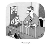 """Fascinating!"" - New Yorker Cartoon Regular Giclee Print par J.C. Duffy"