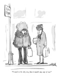 """I used to be old, too, but it wasn't my cup of tea."" - New Yorker Cartoon Premium Giclee Print by Robert Weber"