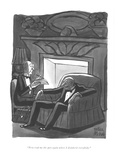 """Now read me the part again where I disinherit everybody."" - New Yorker Cartoon Premium Giclee Print by Peter Arno"