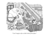 """I can't imagine why we didn't think of this before."" - New Yorker Cartoon Premium Giclee Print by Gahan Wilson"