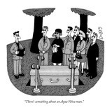 """There's something about an Aqua Velva man."" - New Yorker Cartoon Reproduction giclée Premium par J.C. Duffy"