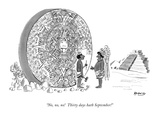 &quot;No, no, no! Thirty days hath September!&quot; - New Yorker Cartoon Premium Giclee Print by Anatol Kovarsky