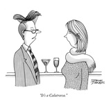 """It's a Calatrava."" - New Yorker Cartoon Premium Giclee Print by Steve Duenes"