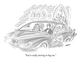 """You're really starting to bug me."" - New Yorker Cartoon Premium Giclee Print by Kim Warp"