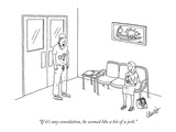 """If it's any consolation, he seemed like a bit of a jerk."" - New Yorker Cartoon Premium Giclee Print by Eric Lewis"