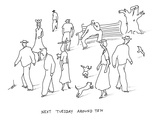 Next Tuesday - New Yorker Cartoon Premium Giclee Print by Erik Hilgerdt