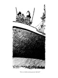 """Give us a bailout and you get your ship back!"" - New Yorker Cartoon Premium Giclee Print by Mike Luckovich"