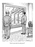 """Can't we just dye the smoke green"" - New Yorker Cartoon Giclee Print by Rob Esmay"