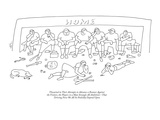 Thwarted in Their Attempts to Advance a Runner Against the Visitors, the P… - New Yorker Cartoon Premium Giclee Print by Erik Hilgerdt