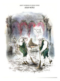 Sour Notes-'Yeah, as usual it's mostly Mozart' - New Yorker Cartoon Premium Giclee Print by Ronald Searle