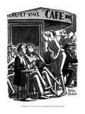 """But Mary Lou! You mean you're not going back to Bryn Mawr ever"" - New Yorker Cartoon Premium Giclee Print by Peter Arno"