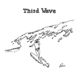 Third Wave - Cartoon Regular Giclee Print by J.P. Rini
