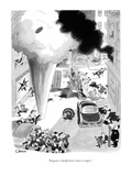 """Sergeant, I hardly know where to begin."" - New Yorker Cartoon Giclee Print by William O'Brian"