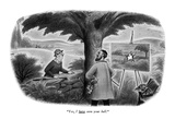 """Yes, I have seen your ball."" - New Yorker Cartoon Premium Giclee Print by Richard Taylor"