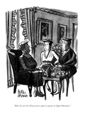 """Well, I'm sure Dr. Kinsey never spoke to anyone in Upper Montclair."" - New Yorker Cartoon Premium Giclee Print by Peter Arno"