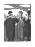 """Here's to dear old Pomfret—drink 'er down, drink 'er down."" - New Yorker Cartoon Premium Giclee Print by Peter Arno"