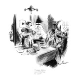 """Popper, Milton wants Chris'mas this year."" - New Yorker Cartoon Premium Giclee Print by Kemp Starrett"
