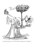"""I dreamed about you for years, but somehow I thought you'd be different!"" - New Yorker Cartoon Giclee Print by James Mulligan"