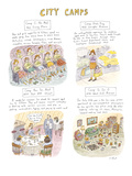 City Camps - Cartoon Regular Giclee Print by Roz Chast