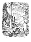"""""""What was the name of that tranquilizer we took"""" - New Yorker Cartoon Premium Giclee Print by Alan Dunn"""