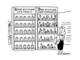 Good Attitude  - Cartoon Regular Giclee Print by Ted Goff