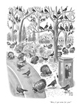 """Boss, I got news for you."" - New Yorker Cartoon Premium Giclee Print by Robert J. Day"