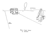 Back Home Again In Indiana' - New Yorker Cartoon Premium Giclee Print by John Corcoran