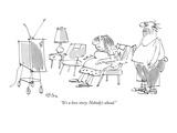 """It's a love story.  Nobody's ahead."" - New Yorker Cartoon Giclee Print by Dean Vietor"