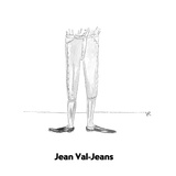 Jean Val-Jeans - Cartoon Regular Giclee Print by Victoria Roberts