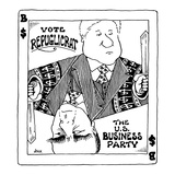 Vote Repuglicrat—The U.S. Business Party - Cartoon Regular Giclee Print by John Jonik