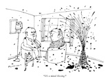 &quot;It&#39;s a mixed blessing.&quot; - New Yorker Cartoon Premium Giclee Print by Douglas Florian