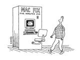 Mac Fix - Cartoon Giclee Print by Ted Goff