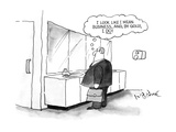 I look like I mean business, and, by golly, I do!' - New Yorker Cartoon Premium Giclee Print by W.B. Park