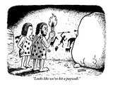 """""""Looks like we've hit a paywall."""" - New Yorker Cartoon Giclee Print by Ward Sutton"""