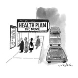Health Plan:  The Movie - New Yorker Cartoon Giclee Print by W.B. Park