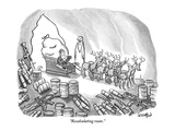 """Recalculating route."" - New Yorker Cartoon Premium Giclee Print by Robert Leighton"