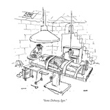 """Some Debussy, Igor."" - New Yorker Cartoon Premium Giclee Print by George Booth"