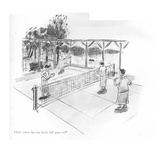 """Now where has our lucky ball gone to"" - New Yorker Cartoon Premium Giclee Print by Helen E. Hokinson"