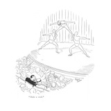 """Make a wish."" - New Yorker Cartoon Premium Giclee Print by Richard Decker"