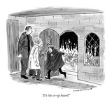 """It's the co-op board!"" - New Yorker Cartoon Premium Giclee Print by Nick Downes"