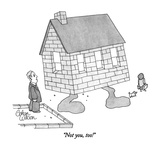"""Not you, too!"" - New Yorker Cartoon Premium Giclee Print by Gahan Wilson"