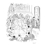 """Later!"" - New Yorker Cartoon Premium Giclee Print by  Alain"