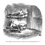 """There might have been some carelessness on my part, but it was mostly jus…"" - New Yorker Cartoon Premium Giclee Print by Frank Cotham"