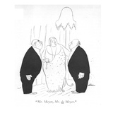 """Mr. Meyer, Mr. de Meyer."" - New Yorker Cartoon Premium Giclee Print by Unknown Alain"