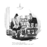 """Isn't it about time another one of John Gunther's 'Insides' came out"" - New Yorker Cartoon Premium Giclee Print by Helen E. Hokinson"